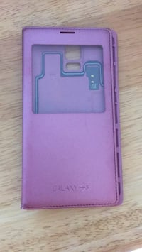 Samsung Galaxy S5 leather case Oslo, 0566