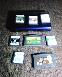 five assorted Nintendo DS game cartridges Georgetown, 40324