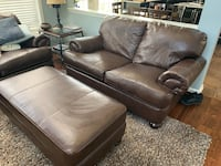 Loveseat and ottoman $250 obo  Two years old good condition and smoke free house.   Loveseat 70 x 36 x 43 Ottoman 50 x 24 x 17 null