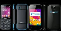 black Samsung android smartphone with case San Diego, 92101