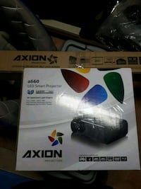 Brand New LED PROJECTOR AND SELF LOCKING SCREEN Mississauga, L5B 4E3