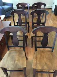 Canadel table and 6 chairs Warwick, 10990