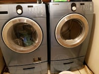 Samsung front load washer and dryer Oklahoma City, 73111