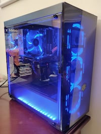 """""""Shadow"""" Gaming PC (i7 / RX 570 / 240G SSD / 2T HDD) Mississauga"""