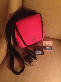 Nintendo ds bag, car charger and games