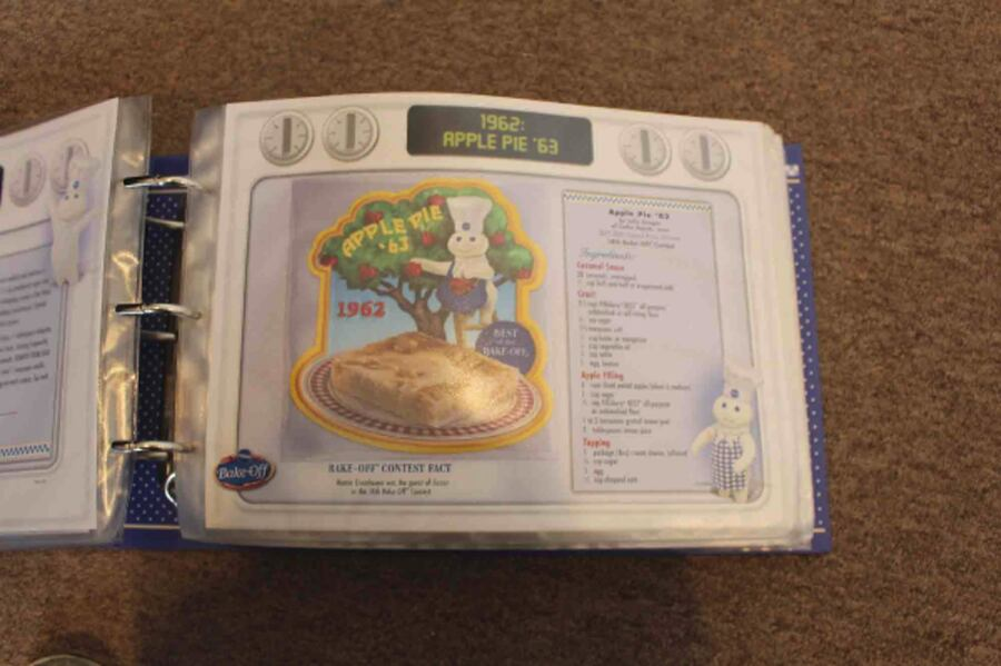 Pillsbury Bake-Off Patch Collection Cookbook 6
