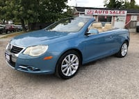 2008 Volkswagen Eos Accident Free/Automatic/Comes Certified/Bluetooth Scarborough, ON M1J 3H5, Canada