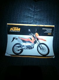 2001KTM factory service manual