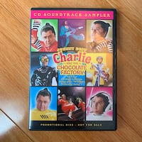 Charlie And The Chocolate Factory PROMO CD (New) Vaughan, L6A 3W5