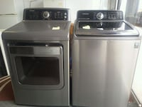 stainless steel Samsung washer and dryer set Laval, H7L 5J9