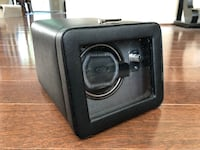 Wolf Windsor Single Watch Winder With Cover Wayne, 19087