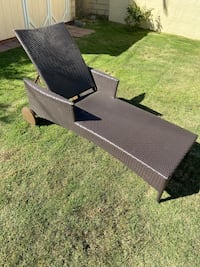 Outdoor CHAISE LOUNGE recliner + wheels