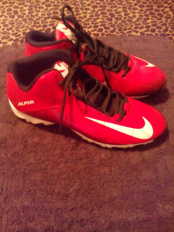 buy popular 8e415 693c9 Used Nike Alpha fast flex football cleats Size 11 for sale in Danville