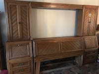 Full wall headboard for a queen bed Vancouver, 98682