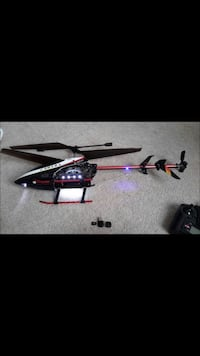 Black and white rc helicopter Atwater, 95301