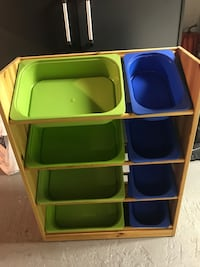 Toy organizer includes 8 bins  Hillside, 07205