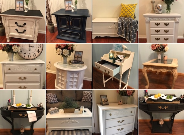Used Red Restyled And Upcycled French Country Shabby Chic Furniture For In Beaverdam Lake Salisbury Mills Letgo
