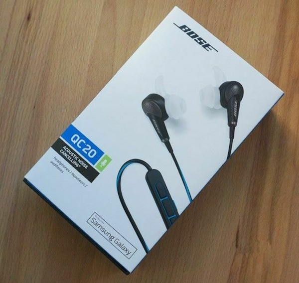 929ceb5e8b4 Used Original packaging Bose QC20 headphone for sale in Vancouver - letgo