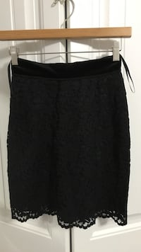 D&G black lace pencil skirt Vancouver, V5R