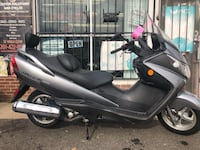 black and gray motor scooter North Brentwood, 20722