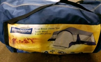 Four Room Dome Tent Barely Used