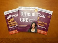 ETS Official Guide to the GRE exam Worcester, 01606