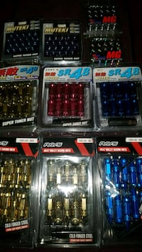 Brand New Forged Steel Tuner Lugnuts  Toronto, M1S 3T3