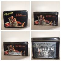 Hill bros coffee tin 1998 holiday edition with coffee sealed Deer Park, 11729