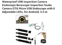BRAND NEW: Waterproof USB Inspection Camera Endoscope Inspection  Winchester, 22601