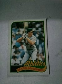 Mark McGWIRE card Fairhaven, 02719