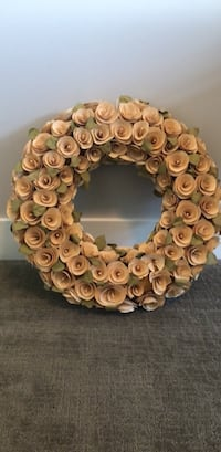 Wood Chip Wreath from Target Draper, 84020