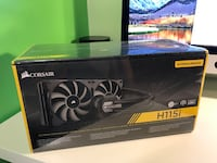 Unopened Corsair H115i AIO water cooler 2*140mm fans and radiator Alexandria, 22301