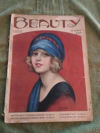 Beauty magazine1924 full magazine great cover art.Interesting articles South Saint Paul, 55075