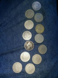 round silver and gold coins Foley, 36535