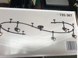 New black track lighting