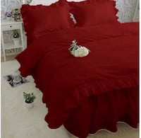 Red king duvet extra large