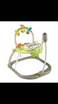 Green, white, and gray jumperoo Edmonton, T6W
