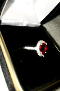 Red ruby diamond ring Dumfries, 22026