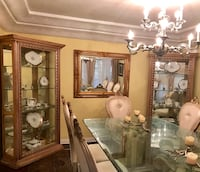Curio,china cabinet set,2pcs (new) Beverly Hills, 90211