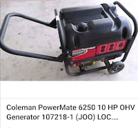 black and red portable generator Long Beach, 90810
