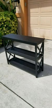 BLACK X DESIGN BOOK SHELF TV STAND Apollo Beach, 33572