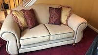 Beige 2 piece couch and loveseat Pikesville, 21208