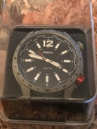 Fossil World Time Big Face Watch Brooklyn, 21225
