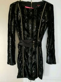 New with tags velvet and sequin stripes dress McAllen, 78504