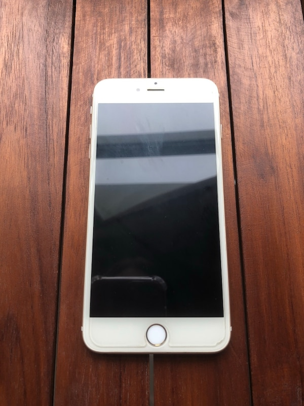 Silver iPhone 6 Plus with box
