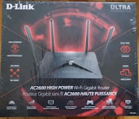 Brand new D-Link AC2600 Wi-Fi Gigabit Router Westmount, H3Z 2E9