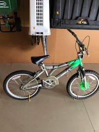 green and black BMX bike 668 mi
