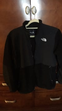 black The North Face zip-up jacket Revere, 02151