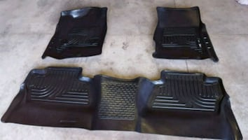 Custom moulded Winter matts  GM pick up 2015 to 2019