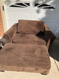Brown Couch and Ottoman Lakewood, 80226